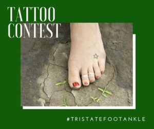 tattoo contest 2020 at tristate foot and ankle